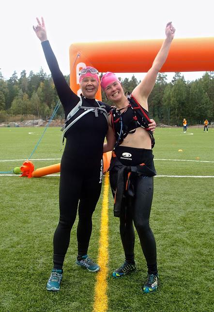 Solvalla Swim Run 2015 Team Manatee Spirit